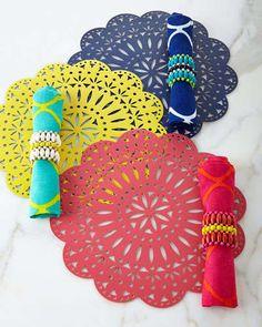 -5R0K Kim Seybert Fete Table Linens