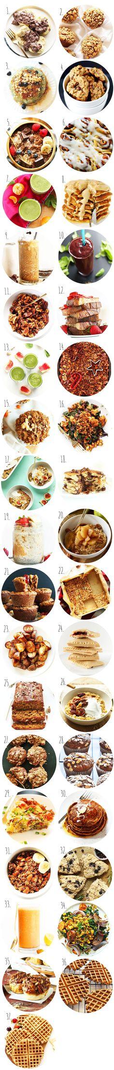 Plantbased Holiday Breakfast Recipes! #vegan #healthy #breakfast #minimalistbaker #christmas