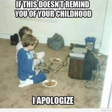 Image result for vintage video games cartoons