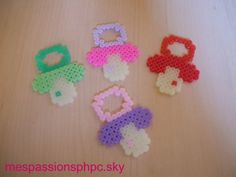 Pacifiers hama perler by mespassionsphpc