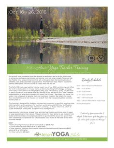 Join YogaToday instructor, Adi Amar, in Jackson Hole for 100 hours of yoga training: