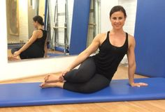 Are you Side Strong? Try this Pilates move.