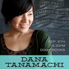 Dana Tanamachi, September 6th 2012 @ Domy Books.