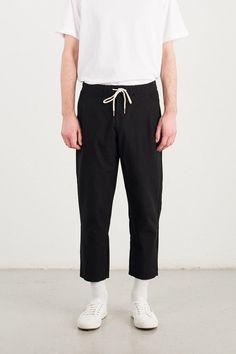 Menswear | Strand Drawstring Pant, Black