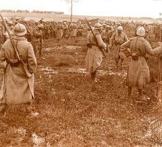 Camp de prisonniers allemands à Bray sur Somme