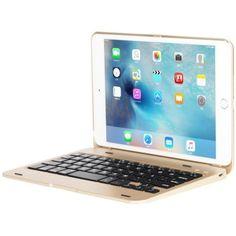 รีวิว สินค้า สลิม iPad Mini 4 เคสกับแป้นพิมพ์แป้นพิมพ์บลูทูธไร้สายอะลูมิเนียมแผ่นเปลือกปิดเคสบูธเก๋สำหรับ Apple iPad Mini 4th ทอง ☏ ลดราคาจากเดิม สลิม iPad Mini 4 เคสกับแป้นพิมพ์แป้นพิมพ์บลูทูธไร้สายอะลูมิเนียมแผ่นเปลือกปิดเคสบูธเก๋สำหรับ Apple i รีบซื้อเลย   special promotionสลิม iPad Mini 4 เคสกับแป้นพิมพ์แป้นพิมพ์บลูทูธไร้สายอะลูมิเนียมแผ่นเปลือกปิดเคสบูธเก๋สำหรับ Apple iPad Mini 4th ทอง  รายละเอียด : http://online.thprice.us/xsCG9    คุณกำลังต้องการ สลิม iPad Mini 4…