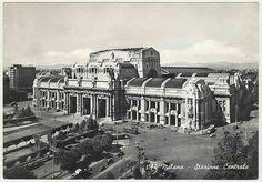 Stazione Centrale. Milan, Italy. 1964