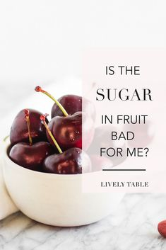 Is the sugar in fruit bad for you? Before you swear off fruit because of it's sugar content, you need to read this. Fruit Nutrition Facts, Nutrition Chart, Holistic Nutrition, Nutrition Information, Healthy Foods To Eat, Diet And Nutrition, Health And Nutrition, Health Tips
