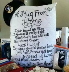 Hug from home<3