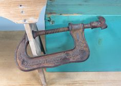P.S. & W. Co. Antique Large C Clamp Pat. by 13thStreetEmporium
