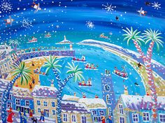 The John Dyer Gallery. Exhibiting the work of John Dyer and Joanne Short both well known Cornish and British painters. John Dyer, Pet Art, Homemade Art, Illustration Art, Illustrations, St Ives, Honey Bees, Naive Art, Sketchbooks