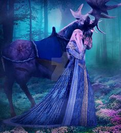 """quelleeleneath: """" EVERYTHING WILL BE FINE MY FRIEND *One of the things that the Elvenking treasure greatly is his majestic elk. The noble elk is not just an animal or merely the Elvenking's ride. The elk is his loyal companion and in many instances,. Tolkien Books, Jrr Tolkien, Thranduil, Legolas, Find My Pictures, Mirkwood Elves, Great King, King Of My Heart, That One Friend"""