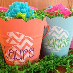 monograms & cake: Spring Bunny Baskets - with files for Silhouette! Silhouette Challenge Spring
