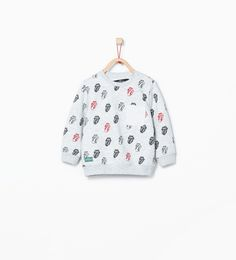 """Rolling Stones"" sweatshirt-Sweatshirts-Baby boy-KIDS-SALE | ZARA United States"