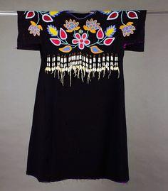Yakama Tl'piip (Wing Dress), made over 100 years ago. Stunning K'pit-lima (beadwork) on cloth.