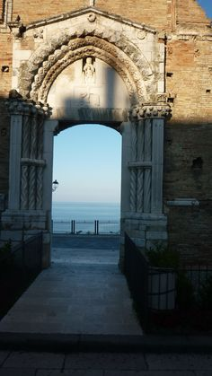 Doorway to the Adriatic. Vasto, Abruzzo