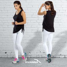 Bom dia! Como está sua segunda-feira? Já escolheu seu look Rivanna Fitness para o treino de hoje?