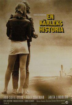 Poster, en Kärlekshistoria, film by Roy Andersson Fox Movies, I Movie, Best Friends Movie, Roy Andersson, Teenage Movie, Cinema, Television Program, Young Love, Music Tv