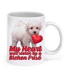 Bichon Frise Dog Hipster Cool Nice Tea Coffee Mug easter Creative gift idea