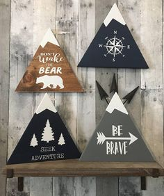 Woodland Nursery Decor Rustic Decor Wood Sign Wall Hanging
