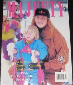 Majesty magazine SARAH FERGUSON March 1991 Vol 12