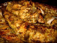 : : lindstew foodies : :: Grilled Cilantro Lime Pork Chops or Chicken Best Pork Chop Marinade, Best Pork Chop Recipe, Best Chicken Marinade, Pork Chop Recipes, Grilling Recipes, Meat Recipes, Chicken Recipes, Cooking Recipes, Bon Appetit