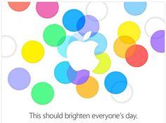 Apple keynote invitation september 2013