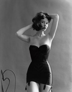 ••• 1950s body shapers