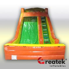 Safe inflatable slide for small kids from Europe's​ largest producer of certified inflatables for children. Commercial - grade of inflatables suitable for rentals, events and leisure parks. Inflatable Slide, Logo Shapes, Bouncy Castle, Indoor Playground, Design Your Own, Playroom, Children, Kids, Parks