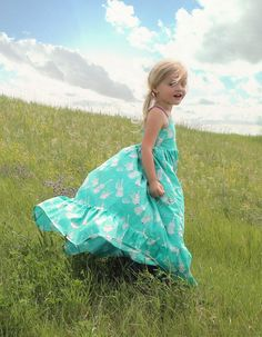 Bella's Dress & Maxi - PDF Sewing Pattern for Girls Sizes 2T-12 | Simple Life Pattern Company