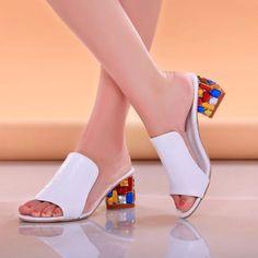 $17.42 (Buy here: https://alitems.com/g/1e8d114494ebda23ff8b16525dc3e8/?i=5&ulp=https%3A%2F%2Fwww.aliexpress.com%2Fitem%2FBig-Size-Sexy-Open-toe-Wedge-Slides-2015-Brand-High-Heels-Sandals-Platform-Flip-flops-Summer%2F32318495209.html ) Rhinestone Peep Toe Heels Women Sandals Shoes Sexy Open Toe Wedge Slides Shoes Woman High Heels Sandals Platform Flip flops Plus for just $17.42