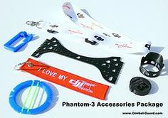 Full Phantom 3 accessory package