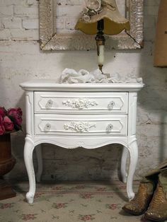 Painted Cottage Chic Shabby Romantic Night by paintedcottages, $160.00