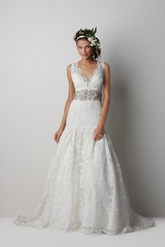 watters lithgow wedding dress - I would starve myself to fit in this dress.  And I love food!