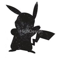 Pokemon Pikachu Silhouette by HighDesign