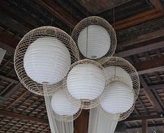 This actually makes those paper lamps look kind of cool. (via http://www.blissfulbblog.com/blog/2011/9/19/i-heart-monday.html)