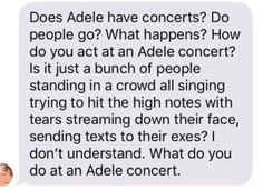 What to do on a adele concert? #Followme #CooliPhone6Case on #Twitter #Facebook #Google #Instagram #LinkedIn #Blogger #Tumblr #Youtube