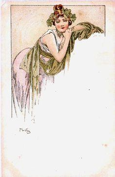 Alphonse Mucha -Menu