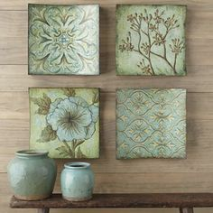 Set of 4 Rayne Collage Wall Art - jcpenney
