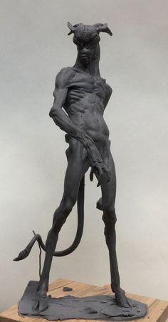 Simon Lee Spiderzero Creature Clay Sculpture Modeling Monster  Handmade Sticks Tools / Escultura Criatura Plastilina Modelado Tradicional Estiques  Monstruo