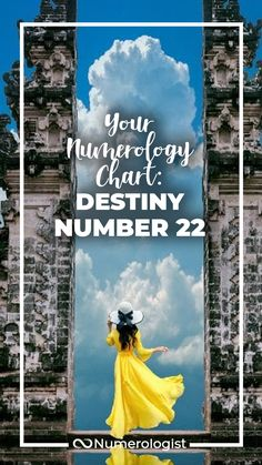 Destiny Number This Digit Will Help You Embrace Your Unique Gifts! Inspiring Quotes About Life, Inspirational Quotes, Expression Number, Number 22, Numerology Chart, Being In The World, I Site, Destiny, How To Find Out