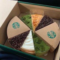 Cute Desserts, Dessert Recipes, Snacks Japonais, Bebidas Do Starbucks, Good Food, Yummy Food, Food Goals, Cafe Food, Pretty Cakes