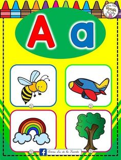 Fun Activities For Toddlers, Early Childhood Education, Preschool Learning, Kindergarten Worksheets, Learning Spanish, Pre School, Phonics, Alphabet, Cards