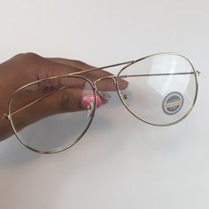 cd7af34981caa Gold Clear Aviator Glasses Please DO NOT spam