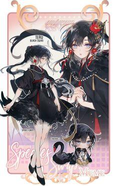 Manga Kawaii, Chica Anime Manga, Kawaii Anime Girl, Manga Girl, Anime Girl Cute, Beautiful Anime Girl, Anime Art Girl, Fantasy Character Design, Character Design Inspiration