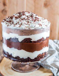 Brownie Pudding Trifle Dessert