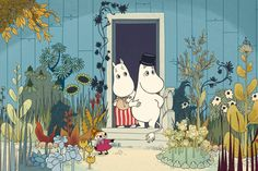 From the next Moomin film coming this year (french-finnish production)