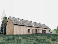 """Bernardo Bader Architects """"Haus am Moor"""" une jolie maison en bois àVorarlberg en Autriche"""