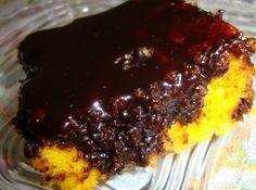 Bolo de Cenoura Delicioso - Veja mais em: http://www.cybercook.com.br/receita-de-bolo-de-cenoura-delicioso.html?codigo=111910