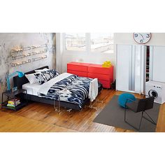 spoke bed in bedroom furniture cb2 teenage boys room bedroom furniture cb2